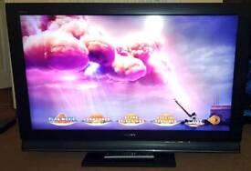 "Sony Bravia 40"" full HD 1080p TV"