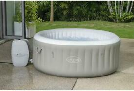 Lazy Spa - Tahiti 🌟 4 people 🌟 Hot Tub Jacuzzi Inflatable Lazy Spa with Pumps!