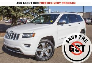 2014 Jeep Grand Cherokee Overland *4WD *5.7L V8 *Leather *Sirius