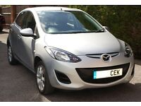 Mazda 2 TS2 1.3 Petrol --- 2011 --- 47200 miles, FSH ---- Excellent Condition - Silver