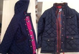 Childrens' Joules jackets sizes 9-10 & 11-12 in excellent condition