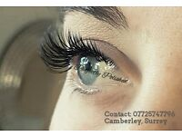 Specialising in Faux Mink Individual eyelash extensions, super soft, fine and virtually weightless.