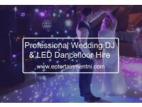 Wedding DJ and LED Dancefloor Hire