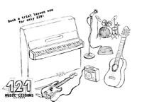 121 Music Lessons - Guitar Tuition