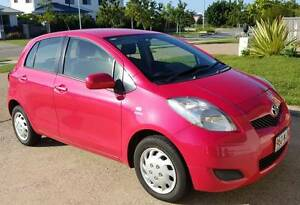 2011 Toyota Yaris 5dr Hatchback - Auto - Cosmopolitan Pink Burdell Townsville Surrounds Preview