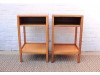 Pair of Vintage Meredew Bedside Tables