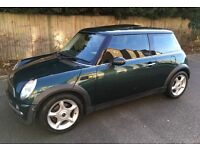 AUTOMATIC MINI COOPER PANORAMIC ELECTRIC SUNROOF LEATHER TRIM AIR CONDITIONING SERVICE HISTORY AUTO