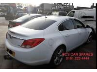 Vauxhall Insignia. Rear light. Breaking spares white.