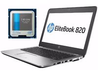 HP EliteBook 820 G3 ultrabook 1.2kg i5 2.8GHz 12GB DDR4 RAM, 256GB SSD NVMe