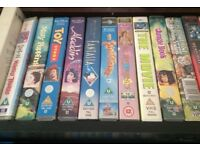 Disney VHS tapes plus musicals and other films . sell as job lot