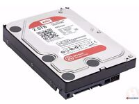 WD 2TB Red HDD - Brand New Western Digital Server Hard Disk Drive