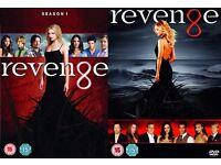Revenge - DVD Boxset Complete Season 1 & Complete Season 2