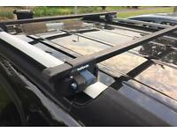 Halfords roof bars to fit rails only