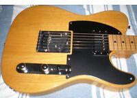 Fender Telecaster 52 FSR Vintage Natural. Maple Neck. Made in Japan.