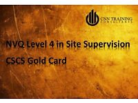 Are you a Site Supervisor? Need the NVQ Level 4 but Can't afford it? We can help...