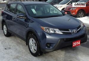 2014 Toyota RAV4 LE AWD  Excellent reliability