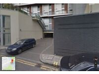 Secure private car park space to rent in a hip happening part of town