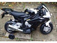 BMW S1000RR Motorbike Electric Ride On 12v Kids Motorbike