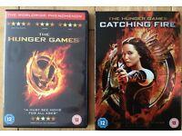 Hunger Games 2 DVDS