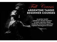 12 Week Beginner Argentine Tango Course