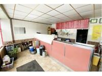 TAKEAWAY / RESTAURANT / HOT FOOD LICENSED SHOP WITH ACCOMMODATION TO LET