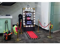 Photo Booth and Selfie Mirror Hire in Dorset
