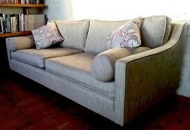Sofa Workshop Fancy Nancy Sofa - Custom Made 3,5 seater - In near mint condition - £475.00 / ono