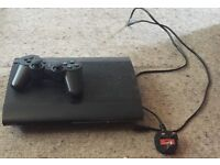 PS3 12gb slimline console with 10 games