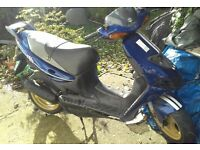 suzuki AY50 scooter 2002