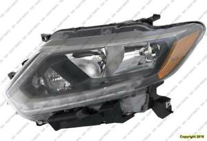 Head Lamp Driver Side Halogen Usa Built Without Led High Quality Nisaan ROGUE 2014-2016