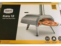 Brand New Ooni Karu 12 Multi-fuel Pizza Oven