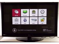 """LG 50"""" Plasma TV Television with Remote, Model 50PS3000 0306058"""