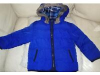 super thick warm winter coat 18-24mnths excellent condition smoke free pet free home fleece lining