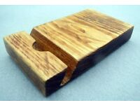 Hand-Made Wooden MOBILE PHONE STAND