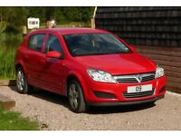 2009 VAUXHALL ASTRA 1.4i 16V ACTIVE 5DR , ONE OWNER , LOW MILEAGE