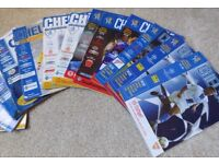Chelsea Football Programmes - 55 from 1999-2012, Super Condition