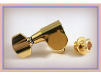 GOTOH SG301-07 TUNERS 3+3 ~ GOLD ~ BRAND NEW.