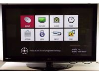 "LG 50"" Plasma TV Television with Remote, Model 50PS3000 0306058"