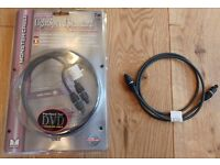 Monster Digital fibreoptic cable 1 m (two available)
