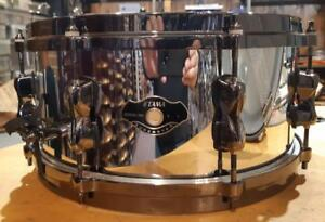"Caisse claire Tama Superstar 13""x7 Birch Shell Finie Chrome usagée-used"