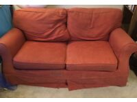 Free red double sofa bed - Laura Ashley