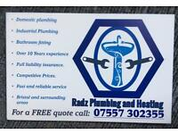 Plumber / plumbing services and bathroom fitter