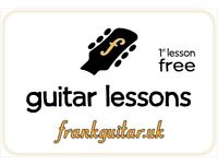 Learn GUITAR - just 3min from Canning Town station