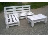 Furniture Pallets - Flowerpots - Coffee Tables