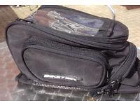 Motorcycle Biketek small tank bag