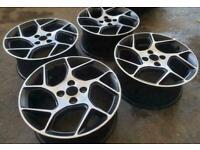 "17"" Ford Fiesta ST alloy wheels"