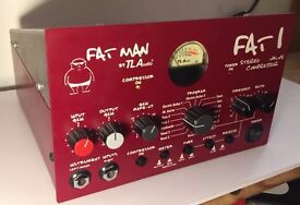 TL Audio Fatman Stereo Valve Compressor; Tube Preamp Outboard Effect AS NEW