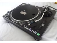 Technics SL-1210 MK2 Turntable With Stanton Groovemaster Cart Stylus