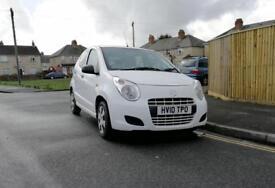 Suzuki Alto 2010 12 Months MOT no advisories full service history £20 road tax per year