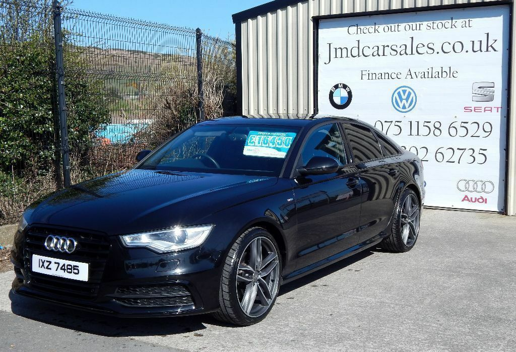 audi a6 s line tdi cvt automatic 2012 black edition styling warranty finance in newry. Black Bedroom Furniture Sets. Home Design Ideas